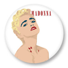 "Pin Button Badge Ø25mm 1"" Madonna The Queen of Pop"