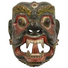 Museum-Quality, Antique, Nepalese-Tibetan (Tibet) Danced, Mask of Deity Mahākāla