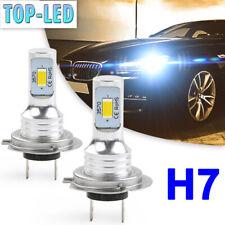 H7 LED Headlight Bulbs Kit High Low Beam 80W 12000LM Super Bright 6000K White