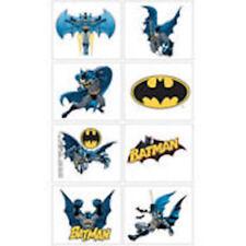 8 Dc Comics Batman Super Hero Tattoos Party Favor Teacher Supply