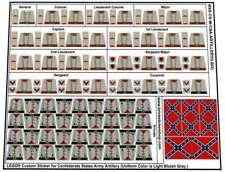 Replica Pre-Cut Stickers for Lego®US Civil War Confederate States Army Artillery