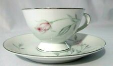 Celebrity Fine China Zephyr Pink Rose No. 1418 Japan Tea Cup and Saucer