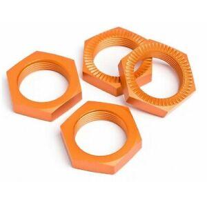 Dice Wheel ergal Orange Replacement R/C Hpi Racing 87494 Nut 0 15/16in 4 Piece