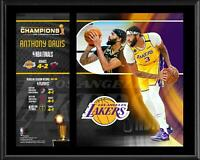 """Anthony Davis Los Angeles Lakers 12"""" x 15"""" 2020 NBA Finals Champ Player Plaque"""