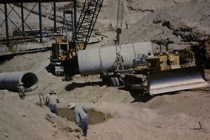 WELLTON MOHAWK CANAL CONSTRUCTION 35MM SLIDE (CIRCA 1950`S) LOT L113