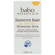 Babo Botanicals Sensitive Baby All Natural Hydrating Stick 0.6 oz 17g-06/19