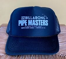Billabong Pipe Masters in memory of Andy Irons  2014 Black Trucker Hat