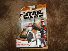 Star Wars Clone Wars Cartoon Network ARC Clone Trooper 2005  3 logo`s