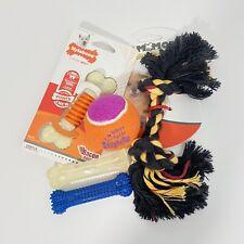 Small Dog Chew Toys Nylabone Chew Dental Bones Rope Toy Kong Ball