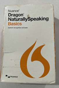Nuance Dragon Naturally Speaking Basics Version 13 K309A-GG4-13.0
