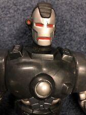 TOY BIZ 10 INCH WAR MACHINE IRONMAN MARVEL UNIVERSE COMICS DELUXE EDITION