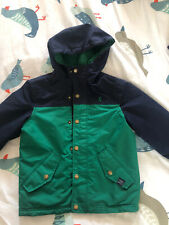 Boys Aged 4 104cm Joules Green And Blue Coat