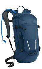 MULE Mountain Biking Hydration Pack Easy Refilling Backpack Magnetic, Blue 100oz