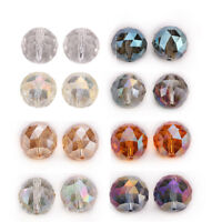 20mm 5PC Faceted Glass Crystal Round Loose Spacer Beads DIY Jewelry Design F
