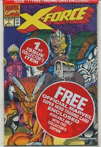 X-Force 1 Sealed With Deadpool Card High Grade