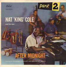 """NAT KING COLE – After Midnight Part 2 (1957 VINYL EP 7"""" HOLLAND)"""