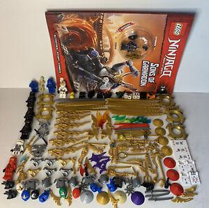 Lego Ninjago Minifigure Accsesories & Mini Figs Bundle Job Lot