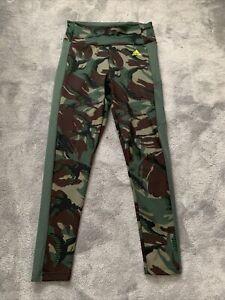Womens Adidas Camouflage Leggings Aeroready JD Sports Medium 12-14