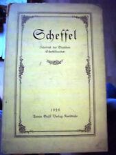 Scheffel- Jahrbuch des deutschen Scheffelbundes 1926