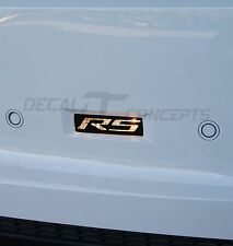 2010-2013 Camaro Reverse Light RS Decal overlay kit - Chevy cover sticker back