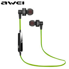 AWEI Wireless Bluetooth Headset Sports Stereo Headphone For iPhone Samsung Oppo