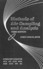 Methods of Air Sampling and Analysis, , Good Book