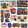 Blaze Party Tableware Decorations Balloons Favours