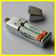 Light Weight Rechargeable NiMH Battery AA AAA High Capacity USB Charger