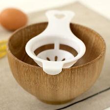 New Egg Yolk & White Separator Holder Filter Divider Sieve Kitchen Tool Strainer