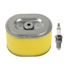Air Filter & Spark Plug for Honda GX140 GX160 GX200 5.5hp 6.5hp Engine Generator