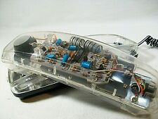 Vintage 1980s Clear See Through Telephone by Lenoxx - Rare Remarkable Condition