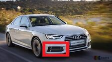 AUDI GENUINE A4 16-18 S-LINE FRONT BUMPER LOWER RIGHT O/S AIR GUIDE GRILL CHROME