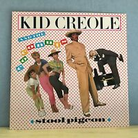 """KID CREOLE & THE COCONUTS Stool Pigeon 1982 12"""" vinyl single EXCELLENT CONDITION"""