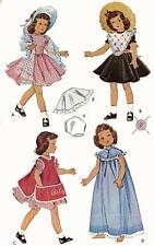 Vintage Doll Clothes Pattern 1812 for 16 inch Betsy McCall by American Character