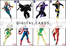 Topps Marvel Collect PROLIFIC LUCIANO VECCHIO ORIGINAL ART [8 CARD SET]