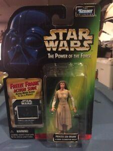 MOC New Star Wars Princess Leia Ewok Celebration Freeze Frame POTF2 VARIANT .00