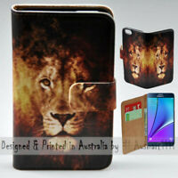 For Samsung Galaxy Note Series - Lion Illustration Print Mobile Phone Case Cover