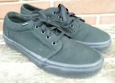 Men's VANS Off The Wall Casual Canvas Skate Shoes   Size 9.5  Excellent!!!