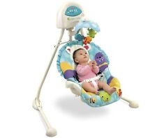 Fisher-Price Precious Planet Blue Sky Cradle 'n Swing (Discontinued) ~BRAND NEW~
