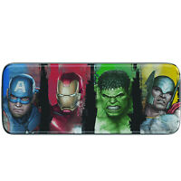 Marvel Avengers Superhero Pencil Case Tin Gift Kids Children School Stationery