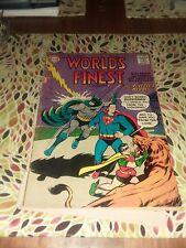World's Finest Comics #87 dc comics 1957 Superman Batman Green Arrow tomahawk