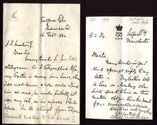 More details for 1884 salford barracks-manchester 64th staffs regiment 2 letters -a & d mackenzie