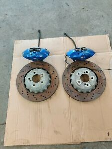 BMW M Performance Rear Brembo Brake Calipers and discs M2 M3 M4