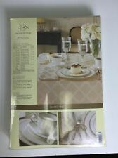 Lenox Laurel Leaf Ivory 90 Round Tablecloth