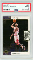 Michael Jordan 1995 Upper Deck SP #23 Basketball Card PSA 9