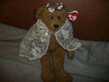 Neu Bean Bags Beanie Babys TY Braut Bär Eve 31cm You're apple of my eye Hochzeit