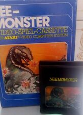 See-Monster Atari VCS 2600 (Modul, Anleitung, Verpackung)