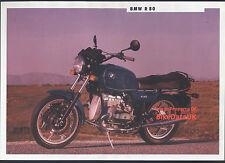 Genuine BMW R80 (1991) Dealership Sales Brochure R 80 Boxer Twin 800 AC55