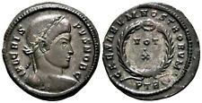 CRISPUS (323-324 AD) Ae3 Follis. Trier #MU 5870