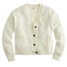 NWT Demylee Peyton for Jcrew Cardigan Sweater $304 Beige Sz L  B1293 SOLDOUT!